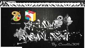 Theme Google Chrome -  Zebra by SriitaDeWatt