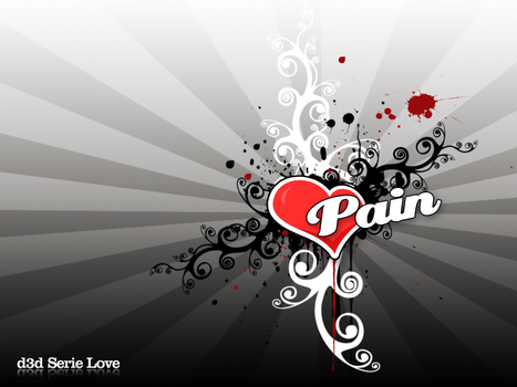 Serie Love - Pain by pincel3d