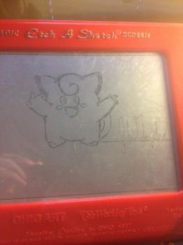 Etch a Clefairy by Hakoboh