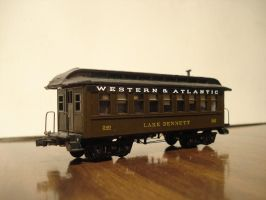 Western and Atlantic Coach by Eddie-Sand