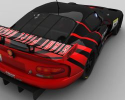 GPRT ADVAN Chrysler Viper GTSR by Overstear