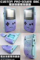 Custom Painted Gameboy Color2 by Thretris