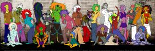EPIC YEZ GROUP PIC LOL by Freakzter
