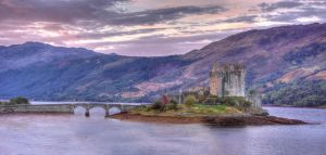 Eilean Donan Morning by Spyder-art