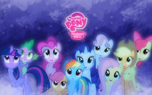 My Little Pony Wallpaper by SandwichDelta
