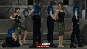 Tomb Raider - From Jeep To Foot by honkus2
