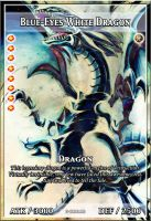 Blue-Eyes White Dragon Orica by Biohazard20