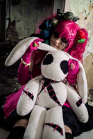Miku Hatsune - raised on a crumbling playground by Mizukishou