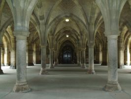 Glasgow_ The Cloisters by Cszemis