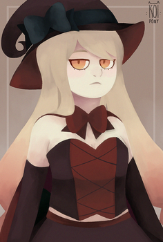 witch waifu by Koipony