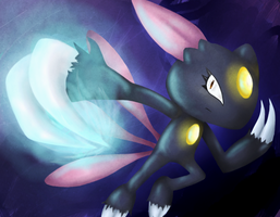 Sneasel Slash by GlassPanda