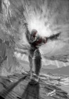 Kratos unchained by Flashmanya