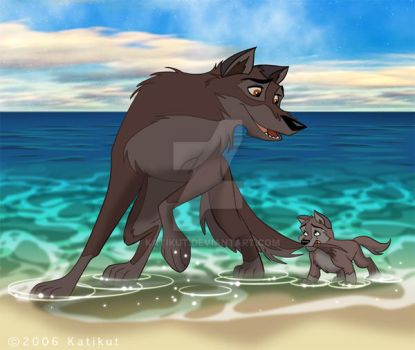 Balto And Aleu for Alissa by Katikut
