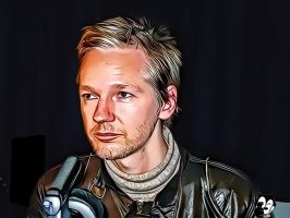 Julian Assange by Felix-2