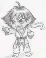 Put up your fists! - ChibiKoto by SlimeKingKtW