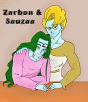 Sauza and Zarbon by Padzi
