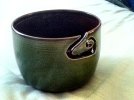 bowl about a friend :) by Devilsinsurence