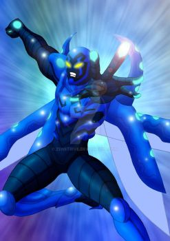 This Is The Blue Beetle by Zenstrive