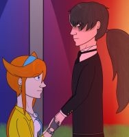 AA: Cykesquill Day 1 Holding Hands by NextTrickAnvils