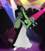 TMNTU_Look Who's Dancing by DNLnamek01