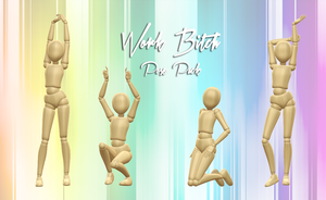 { thank you gift } work bitch pose pack by nyoomy