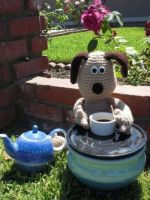 Gromit Afternoon Cup of Tea by Ami-Amour