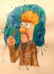Muppet who tenth doctor beaker by Barfly1986