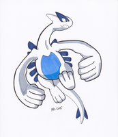 Pokemon Special: Lugia by MightyRay
