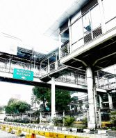 BUSWAY SHELTER NEAR MAMPANG St by diimaaz