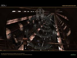 SGU Seedship Gate-Factory by Animaniacarts