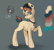 MLP earth pony adopt auction 56 CLOSED by ElkaArt