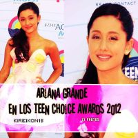 Pack Ariana Grande Teen Choice Awards 2012 by Kireikon13
