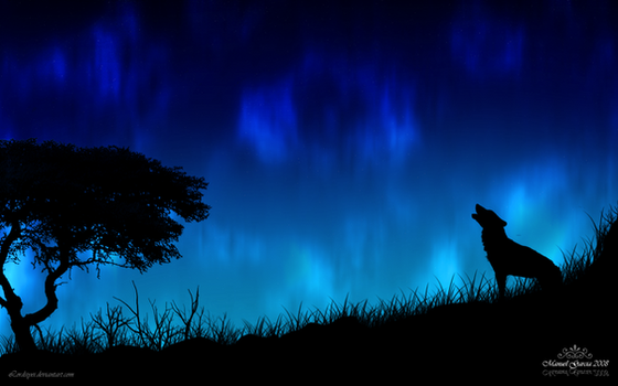 The Howl of a Wolf by Lordsiyei