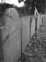 Row of Graves by Somnium-Draco