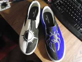 Dimir and Orzhov Shoes by OdieBFMV