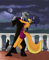 Sly And Carmelita Romance by professorMarion