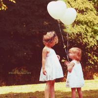 fairies and balloons by Atreja