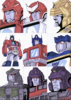 Sketch Cards - Transformers 4 by AJSabino