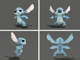 Stitch 3D by DND6