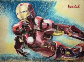 Iron man by Vooodah