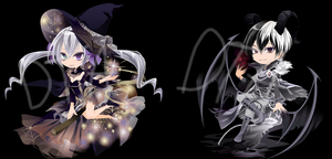 Halloween Themed DTA Dreamselfys (CLOSED) by TheWizardAdopts