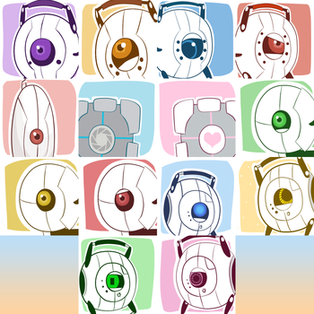 Portal Icons [Link in Description] by C-H-I-Z-U