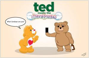 Ted Meets The Carebears by momarkey