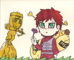 Gaara in love by Cartoon-Elfje