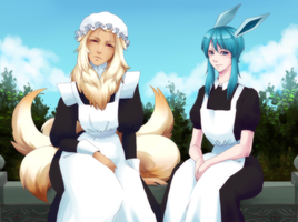 Maids by Pikokko