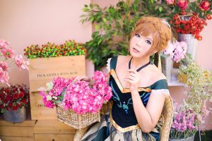 Anna in Coronation Day by Inushio