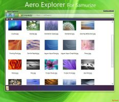 Aero Explorer For Samurize! by kavin