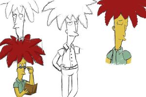 Sideshow Bob sketch by Eriath