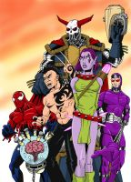 'The X-Listers' by xcub