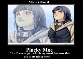 Moevational - Plucky Moe by Thrythlind